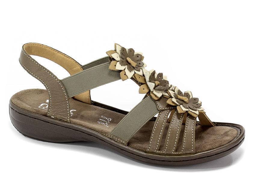 Sandały Rieker 60858-64 Beige