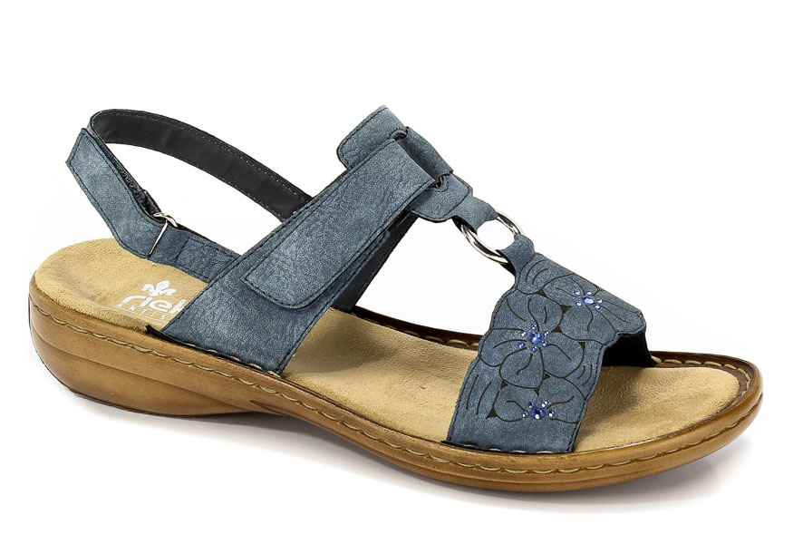 Sandały Rieker 60843-14 Blue