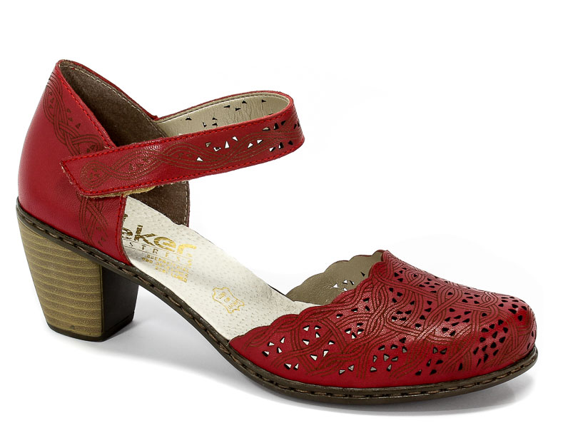 Sandały Rieker 40987-33 Red