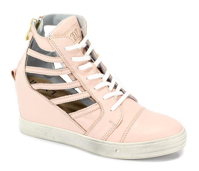 Sneakersy Booci 2222/248 Pudrowy Róż