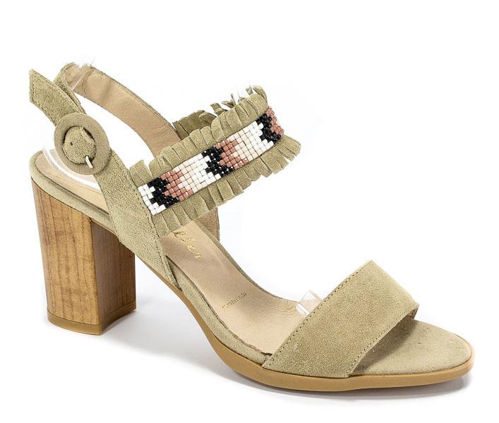 Sandały Patricia Miller 1392 H-241 Sade Topo