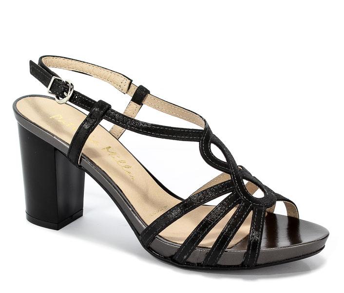 Sandały Patricia Miller 1414 H-1235 Marley Antracita