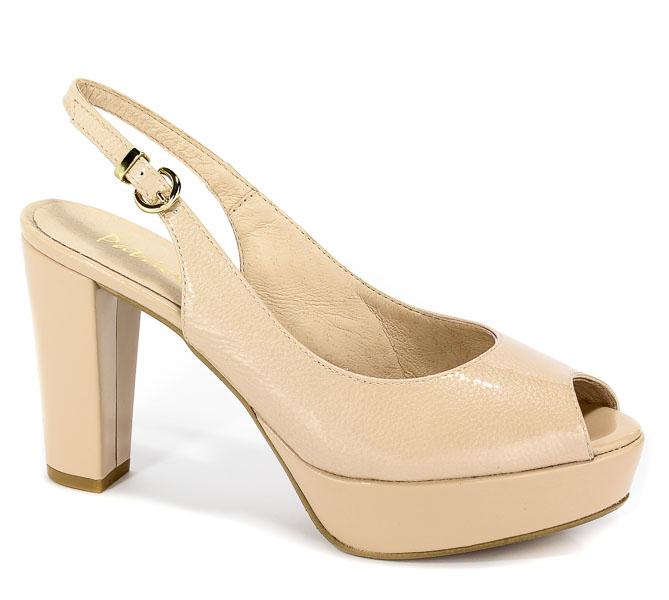 Sandały Patricia Miller 1370 H-1309 Charol Nude