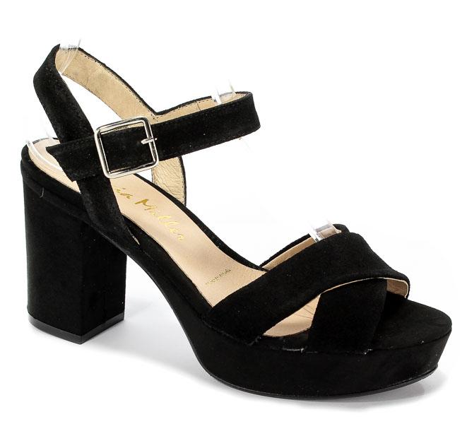 Sandały Patricia Miller 1403 H-120 Sade Negro