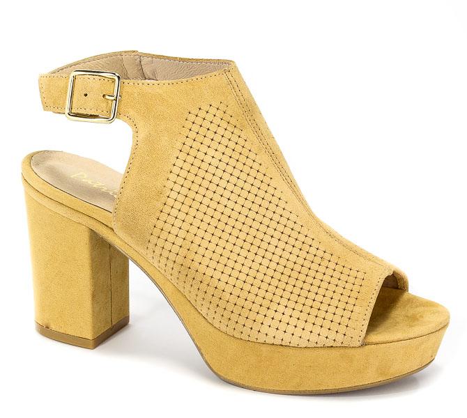 Sandały Patricia Miller 1404 H-120 Sade Camel