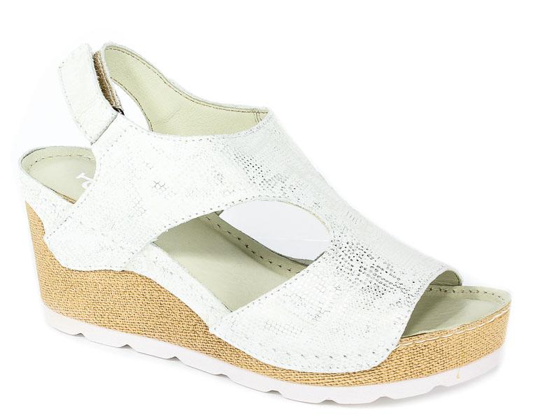 Sandały Dolce Pietro 0888-130-01-1 Zorro Srebrne