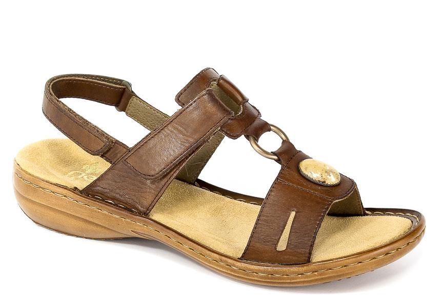 Sandały Rieker 60874-26 Brown