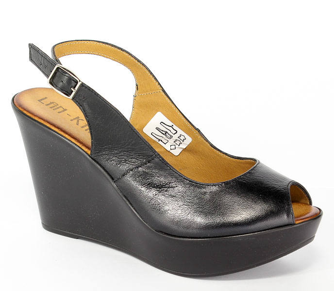 Sandały Lan-Kars G129-1-APX Czarny