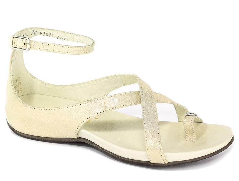 Sandały Nessi 19210 Złoto CT