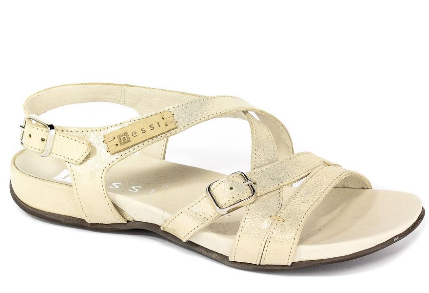Sandały Nessi 49804 Złoto CT