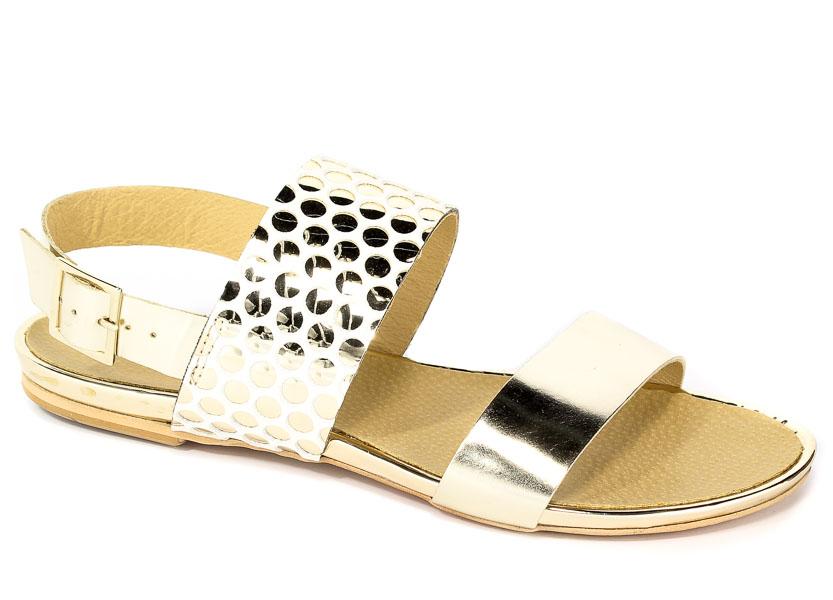 Sandały Maccioni 382 Złoty