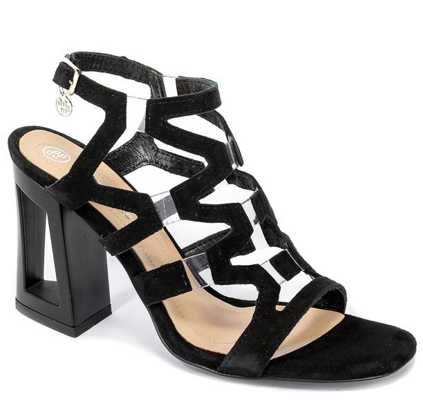 Sandały Solo Femme 60820-11-020/001-07-00 Czarny