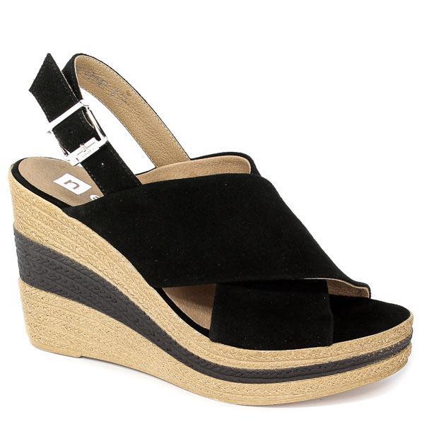 Sandały Nessi 18347 Czarny 19