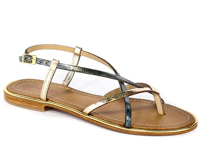Sandały Les Tropeziennes 04170 Gold/Blue