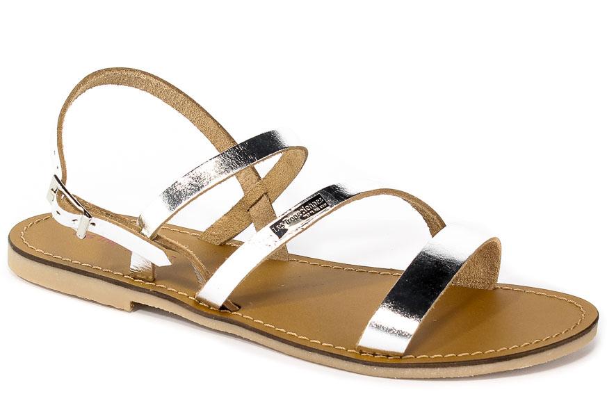 Sandały Les Tropeziennes 09506 Silver