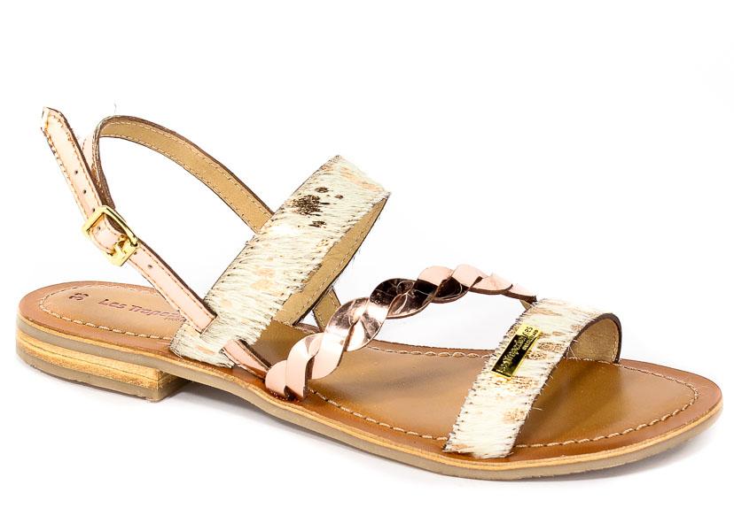 Sandały Les Tropeziennes 11580 Gold/Pink