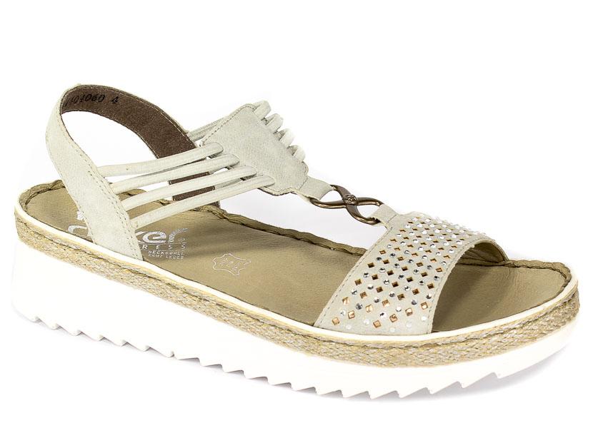 Sandały Rieker V3285-40 Grey