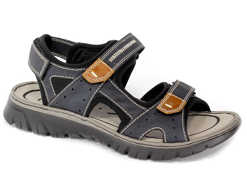 Sandały Rieker 26759-14 Blue Combination