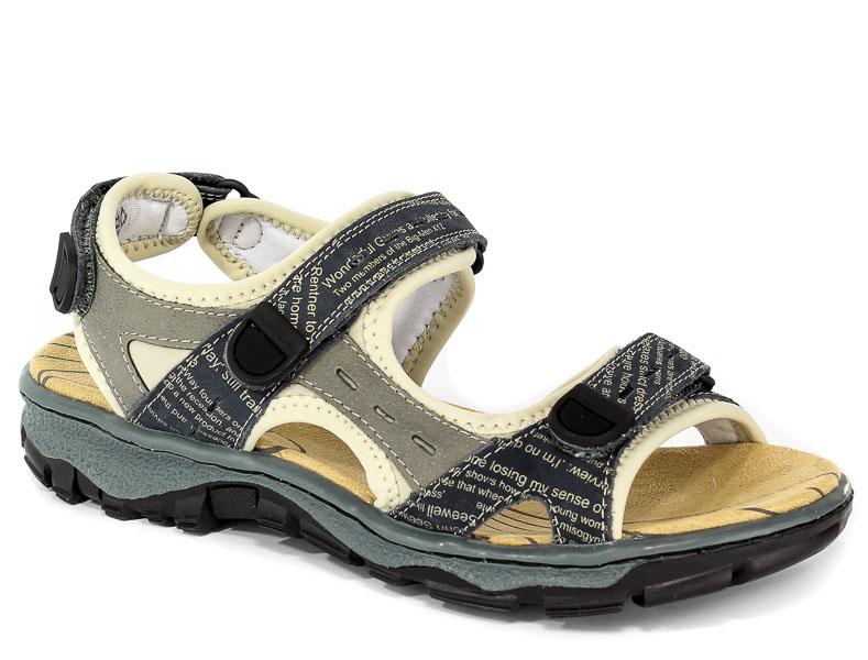 Sandały Rieker 68872-14 /Blue Combination