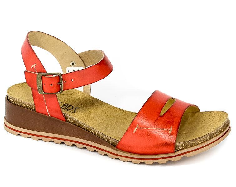 Sandały Lan-Kars G101-64 Czerwony