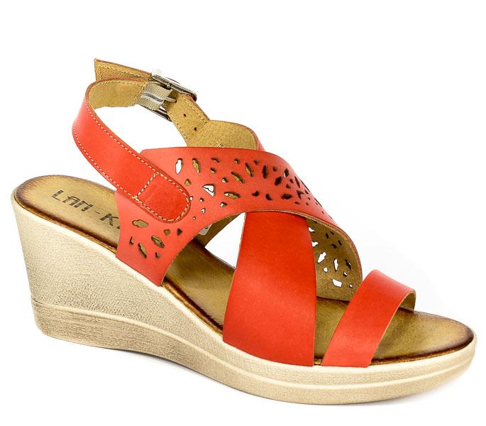 Sandały Lan-Kars G96-64 Czerwony