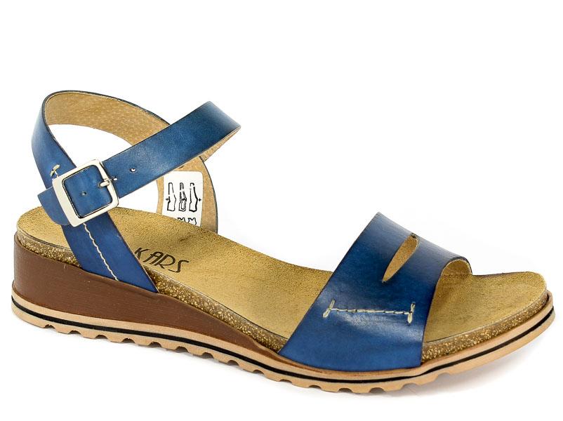 Sandały Lan-Kars G101-20 Granat