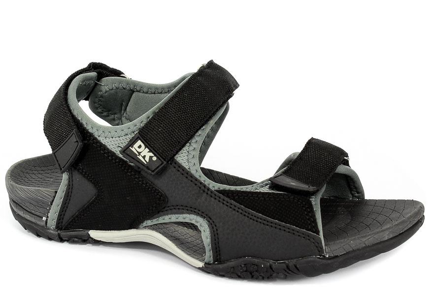 Sandały DK HF06 BlkGrey