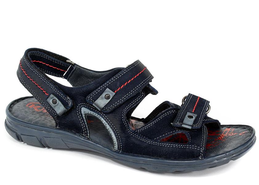 Sandały Krisbut 1099-2-1 Granat