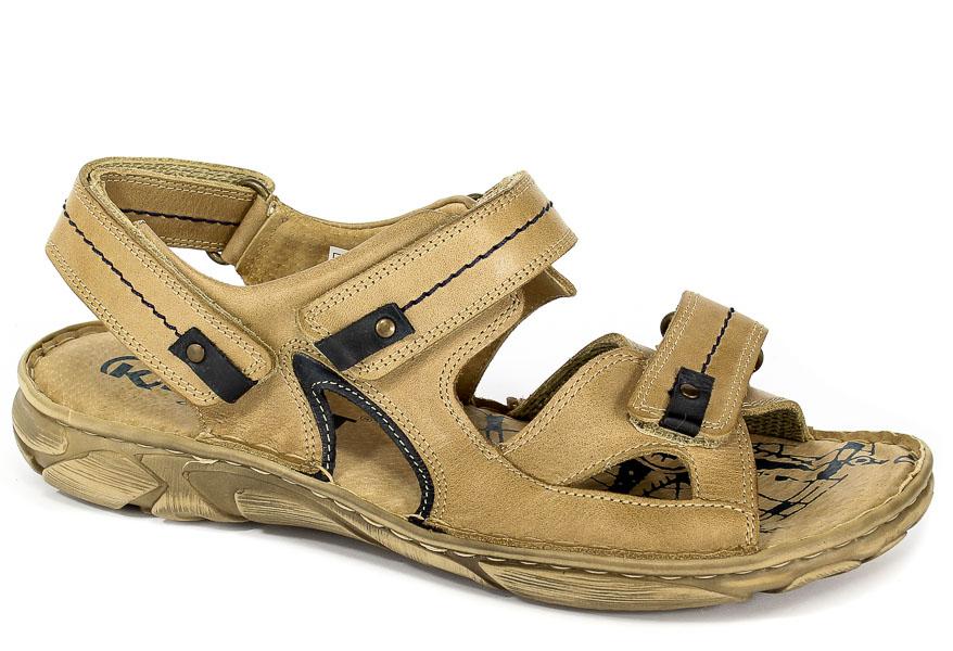 Sandały Krisbut 1099-3-9 Beżowy