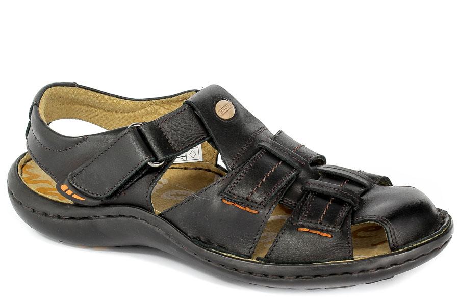Sandały Krisbut 1108-1-9 Czarny