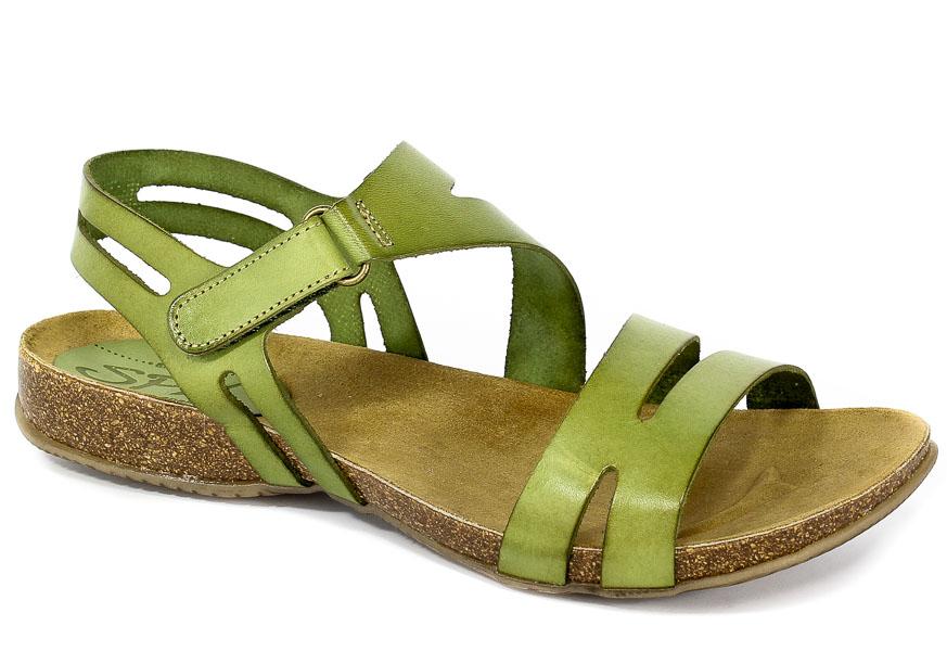 Sandały SPK Shoes 820 Vaquetilla Musgo