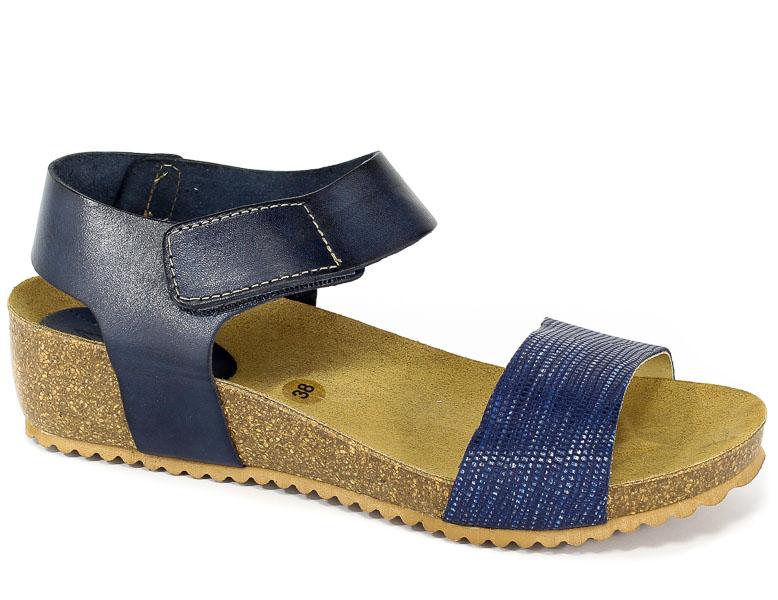 Sandały SPK Shoes 802F Colonial/Vaquet Marino/Azul