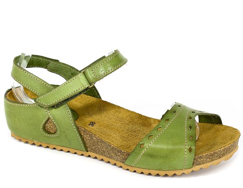 Sandały SPK Shoes 805 Vaquetilla Musgo