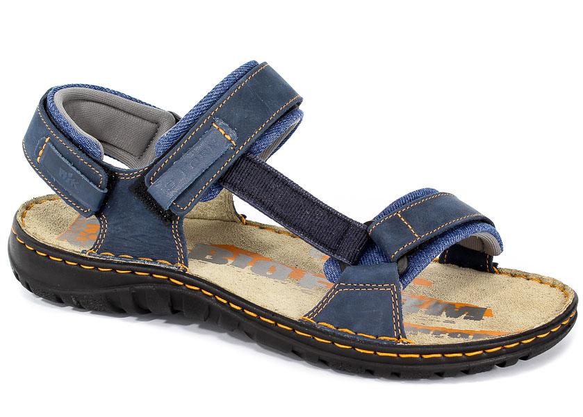 Sandały Nik 06-0094-01-9-09-03 Granat