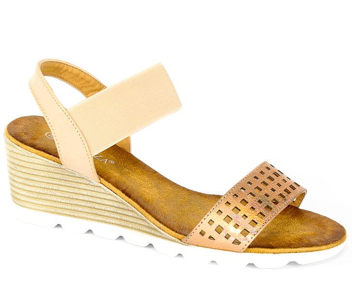 Sandały Vinceza YQE18-1744-PN Różowy