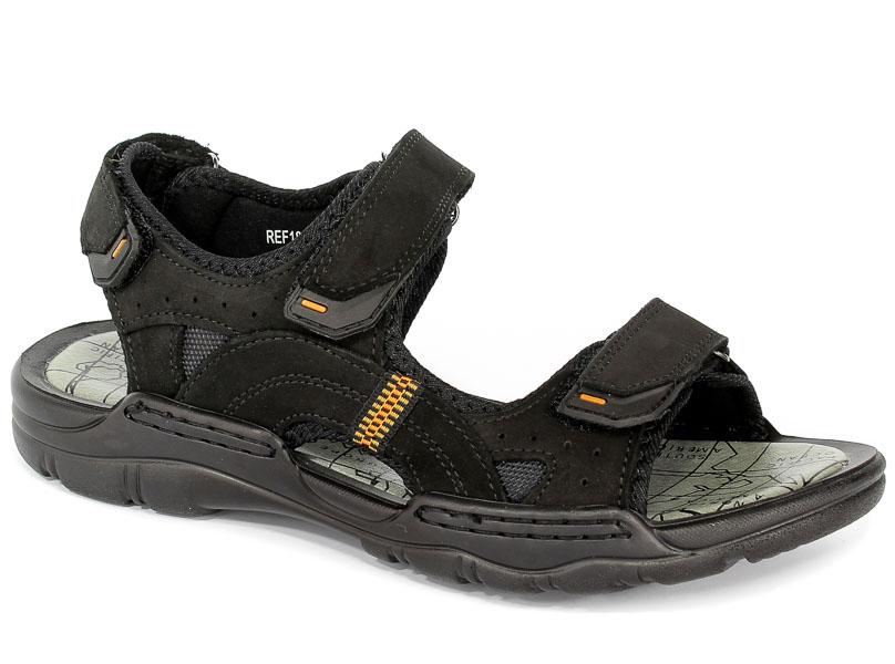 Sandały McKeylor REF18-9710-BK Czarny