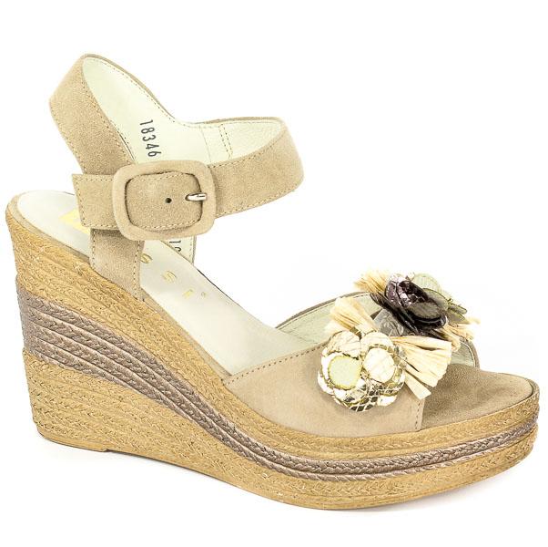 Sandały Nessi 18346 Beż 19