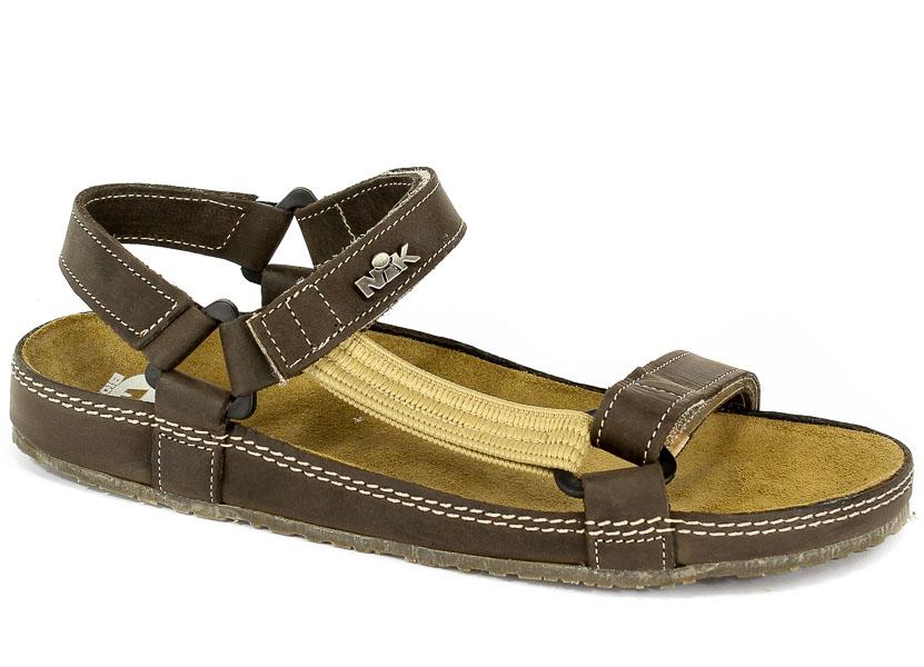 Sandały Nik 07-0090-01-9-02-03 Brązowy