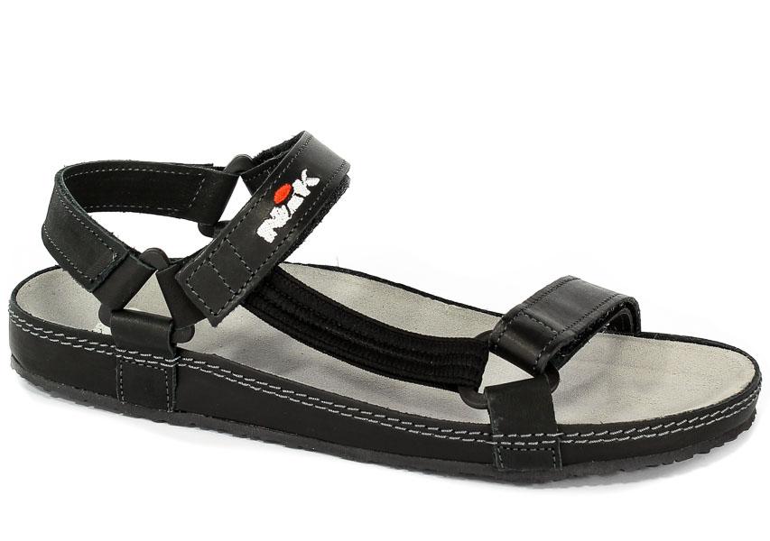 Sandały Nik 07-0090-41-9-01-03 Czarny
