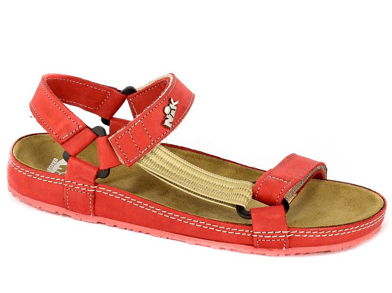 Sandały Nik 07-0090-01-9-12-03 Czerwony