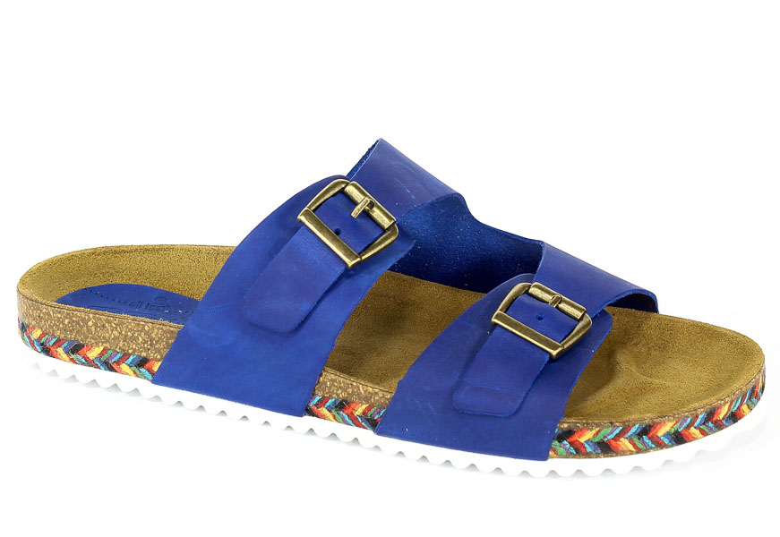 Klapki SPK Shoes 890 Wass Azul Francia