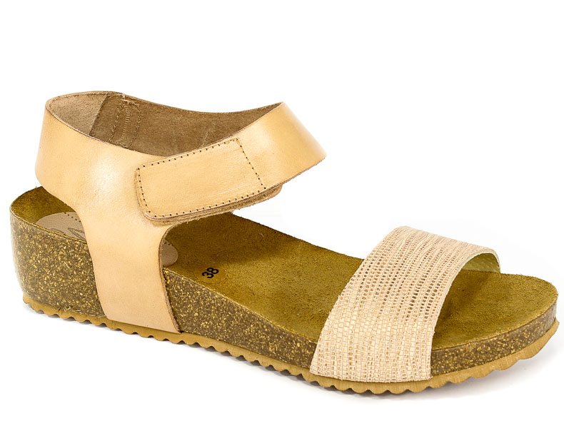 Sandały SPK Shoes 802F Colonial/Vaquet Sand/Arena
