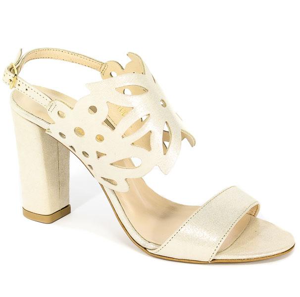 Sandały Cortesini 02100/2 Beż/Len