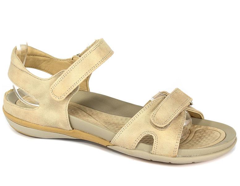 Sandały Rieker V9462-62 Beige