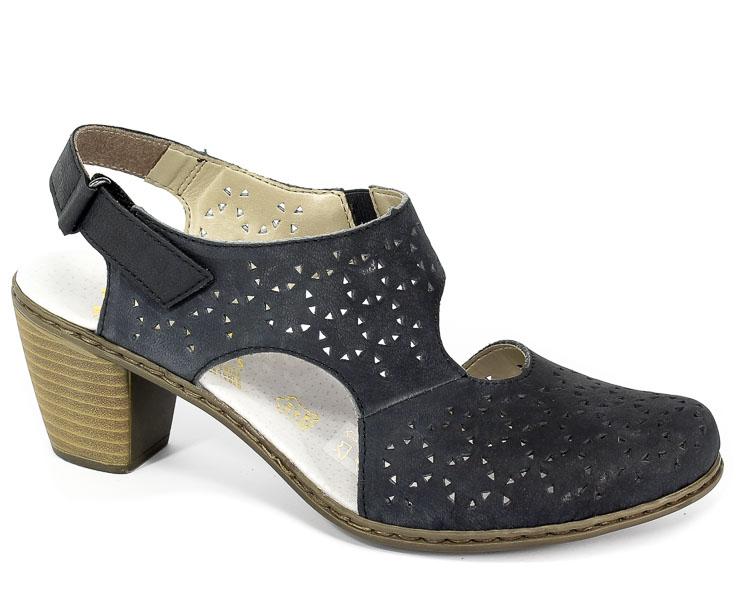 Sandały Rieker 40979-14 Blue