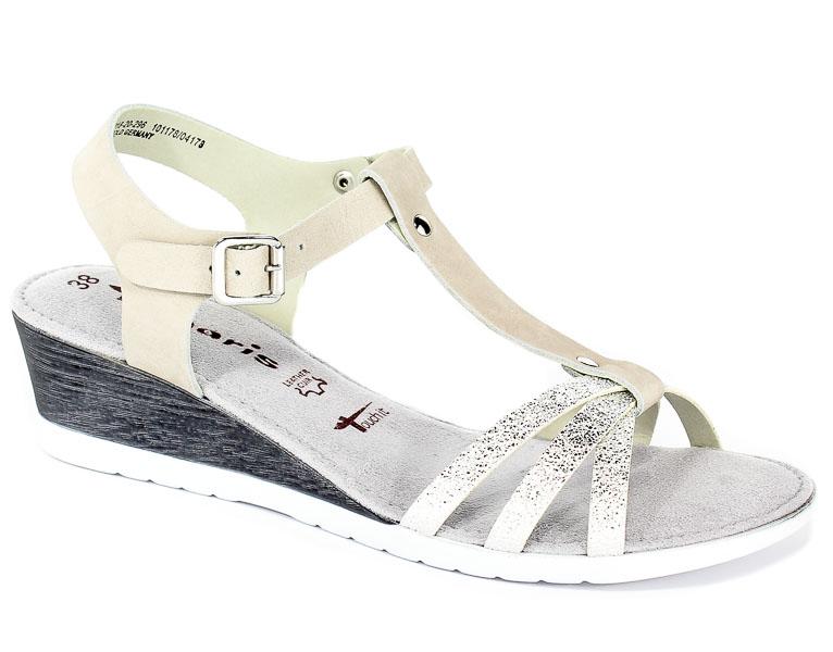 Sandały Tamaris 1-28218-20 296 Grey/Silver