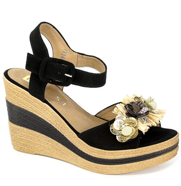 Sandały Nessi 18346 Czarny 19
