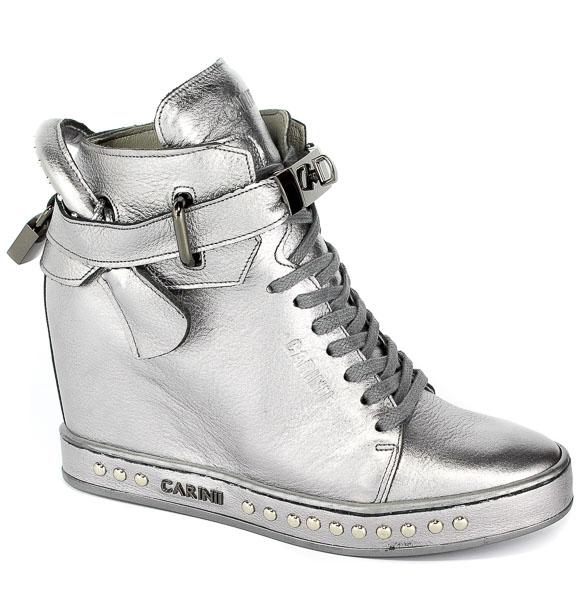 Sneakersy Carinii B4464-L91-000-000-C98 Srebrny