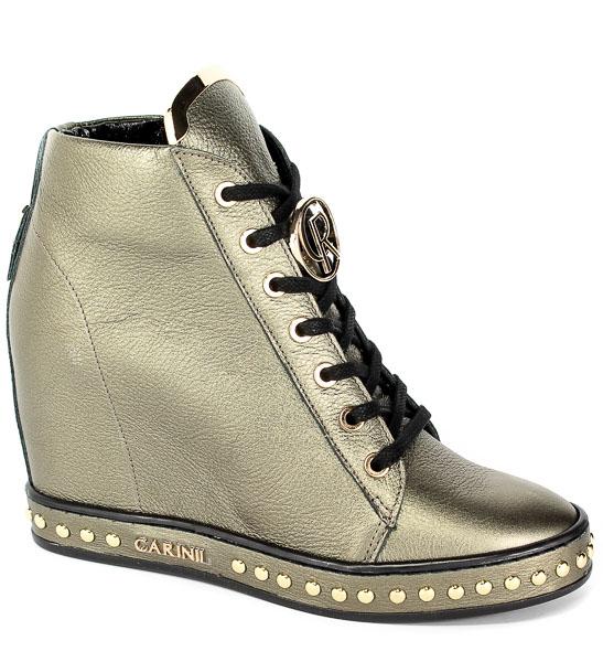 Sneakersy Carinii B4462-L94-000-000-C98 Miedź