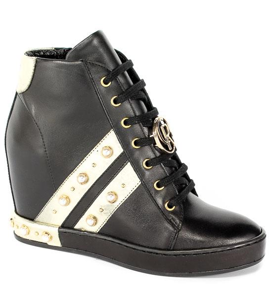 Sneakersy Carinii B4645-E50-L90-000-C98 Czarny